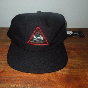 Brixton Black Snap back Hat